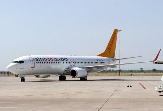 самолет Air Manas